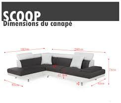 canape scoop scoop canapé d angle maison image idée