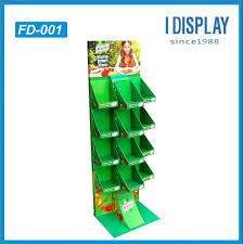 Creative POP Cardboard Floor Display With LCD Video Player Integrated For Attractive Promotion Image
