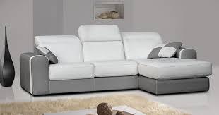 canapé design cuir pas cher design vente unique