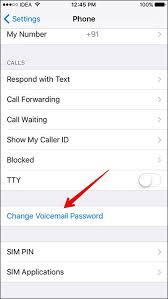 How To Save Voicemail Password Iphone 6 – Howsto Co