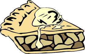 Apple Pie Pie A La Mode Slice Serving Dess