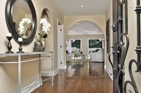 artistic entrance hallway lighting ideas using recessed led light