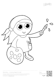 Painter Memollow To Print Coloring Pages For Kids Printables