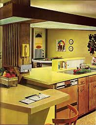 Late Kitchen From The Practical Encyclopedia Of Good Decorating And Home Improvement Yuck I Remember That Mustard Yellow Called Harvest Gold