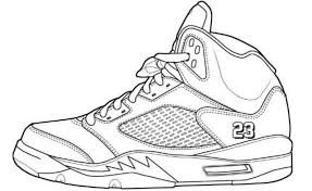 Coloring Pages Shoes 7 For