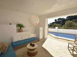 ibiza style villa in moraira with pool and