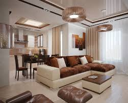 Brown Living Room Ideas by Entrancing Image Of Dining Room Decoration Using Grey White Flower