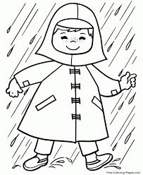 Preschool Printables Of Spring Coloring Pages Free B3hca