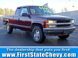 1998 Chevrolet Silverado 1500 For Sale Nationwide - Autotrader Red 1998 Gmc Sierra Single Cab Short Bed Youtube Sierra 1500 Image 4 Photos Informations Articles Bestcarmagcom Truck Boss Plow For Sale Mid Michigan College 2500 Ext Utility Bed Pickup Truck Ite Fabtech 6 Performance System Wperformance Shocks 8898 Cover Quest Photo Gallery Gmc Lowrider Custom 20 Wheels 8lug Magazine 3500 Sle Ambulance Item De1843 Sold Aug Protouring Dually Flemings Ultimate