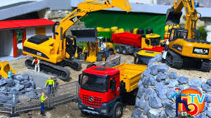100 Cat Truck Toys BRUDER TOYS Construction Company CAT Mercedes Benz