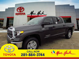Toyota Model Research In League City, TX | MAC HAIK TOYOTA New 2019 Toyota Tundra Sr5 Double Cab 65 Bed 57l In Santa Fe Custom Trucks Near Raleigh And Durham Nc Preowned 2015 4wd Truck Crewmax Ffv V8 6spd At Trd Pro Crew Pickup 1794 Longview 2016 2008 Used Crewmax At World Class San 2010 Ltd 1dx3053 Antonio 2018 Release Date Prices Specs Features Digital