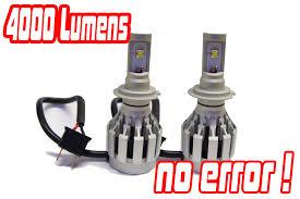 h7 4 cree led headlight bulbs conversion kit xenon hid bmw e46