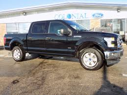 100 Colonial Truck 2017 Ford F150 SuperCrew Cab XLT 4 Wheel Drive In Shadow Black For