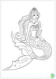 Luxury Mermaid Barbie Coloring Pages 40 On Free Kids With