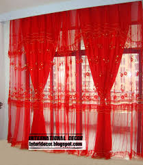 Gold And White Sheer Curtains by Curtains And Drapes Red Decorate The House With Beautiful Curtains