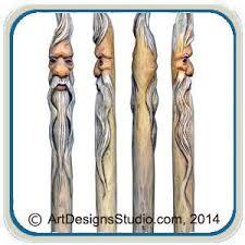 canes walking sticks u0026 wizard wands u2013 classic carving patterns