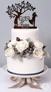 Wedding Cake Cakes Wood New Rustic Toppers Ebay To In Ideas
