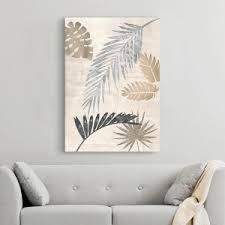 palmblätter silber iii
