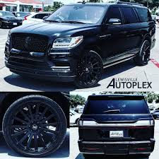 2018 Lincoln Navigator L All Black Out With 24s ... Spied 2018 Lincoln Navigator Test Mule Navigatorsuvtruckpearl White Color Stock Photo 35500593 Review 2011 The Truth About Cars 2019 Truck Picture Car 19972003 Fordlincoln Full Size And Suv Routine Maintenance Used Parts 2000 4x4 54l V8 4r100 Automatic Ford Expedition Fullsize Hybrid Suvs Coming Model Research In Souderton Pa Bergeys Auto Dealerships Tag Archive Lincoln Navigator Truck Black Label Edition Quick Take Central Florida Orlando