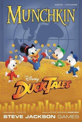 Munchkin Disney Ducktales Card Game