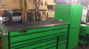 toolbox tour extreme green snap on master series with snap on