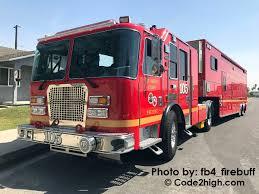 100 Hazmat Truck LA County Fire 105