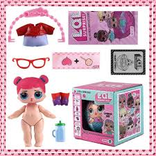 LOL Surprise Dolls Lil Sisters Lets Be Friends Series 1 2 Balls In Box
