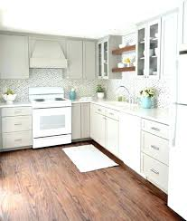 Kitchen Laminate Colors Gray And White Corner View Countertops