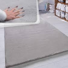 paco home hochflor teppich wohnzimmer kunstfell soft