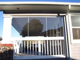 Patio Curtains Outdoor Plastic by Custom Enclosures For Your Deck Porch Or Patio