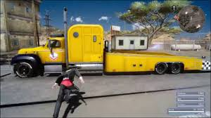 100 Tow Truck Simulator FInal Fantasy 15 Cindys Tow Truck SCS Software