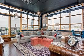 100 Gw Loft Apartments Colorful Corner Loft At Willys Asks 850K Curbed Detroit