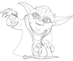 Free Printable Yoda Coloring Pages Kids