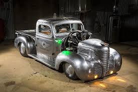 100 1937 Plymouth Truck 1939 Pickup Hot Rod Is An Apocalyptic AirplanePowered