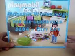 playmobil modernes wohnzimmer für die luxusvilla auspacken