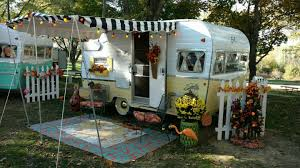 Shasta Airflyte Camper Named Lucy Lou Loves To Dress Up As A Vintage Trailer
