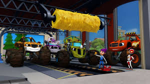 Watch Blaze And The Monster Machines Kids Show - Episode 16 Blaze To ...