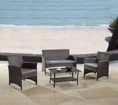 Patio Bistro 240 Assembly Instructions by Madison Home Usa Modern Outdoor Garden Patio 4 Piece Seating Group