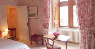 chambre toile de jouy château de palaminy