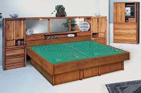 Queen Size Waterbed Headboards by Oak Waterbeds Bedroom Furniture Group La Jolla Pier