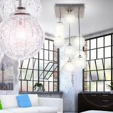 design luster wohnzimmer decken le kugel pendel leuchte