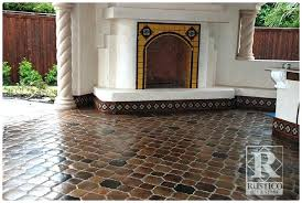 Saltillo Tile Cleaning Los Angeles saltillo tiles before and after sealing tiles saltillo tiles los
