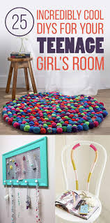 25 Gorgeous DIYs For Your Teenage Girls Room