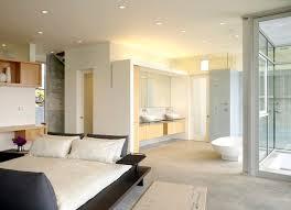 oakland residence master bedroom open