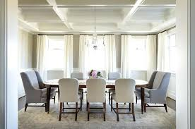 Oval Dining Table With White And Gray Chairs Transitional Within Decor 9 Room Set Leaf Transiti
