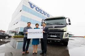 100 Volvo Truck Center S Koreas Sales Surpass 25000 Mark The Korea