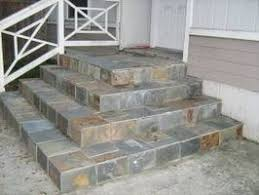 how to lay slate tile outside slate porch and front porches