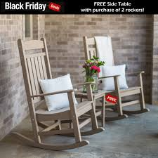 Durogreen™ Classic Poly Rocker Seating Set - Rocker Sets - Sets The Strongest Outdoor Rocker Trash Flamingo On Twitter Big Blackfriday Deal These Poang Rocking Chair Alert Shoppers Ikea Has Crazy Madrid Black Gingham Cushions Latex Fill Front Porch Show Podcast Rockers Custom Fniture And Flooring Pat7003b Chairs Heavy Duty Camp Gci Hydraulic Rural King Pin Friday Deals 2018 Olli Ella Ro Ki Nursery In Snow Magis Spun Farfetch Painted Goes From Dated To Stunning