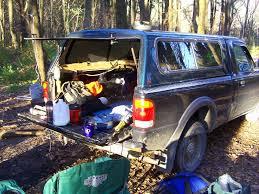 Truck Cap Camping Setups, Truck Camping | Trucks Accessories And ...