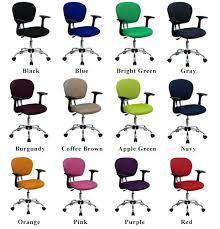 Office Chair With Arms Or Without by Fabric Office Chairs Runway Mid Back Chair In Gray Desk Without